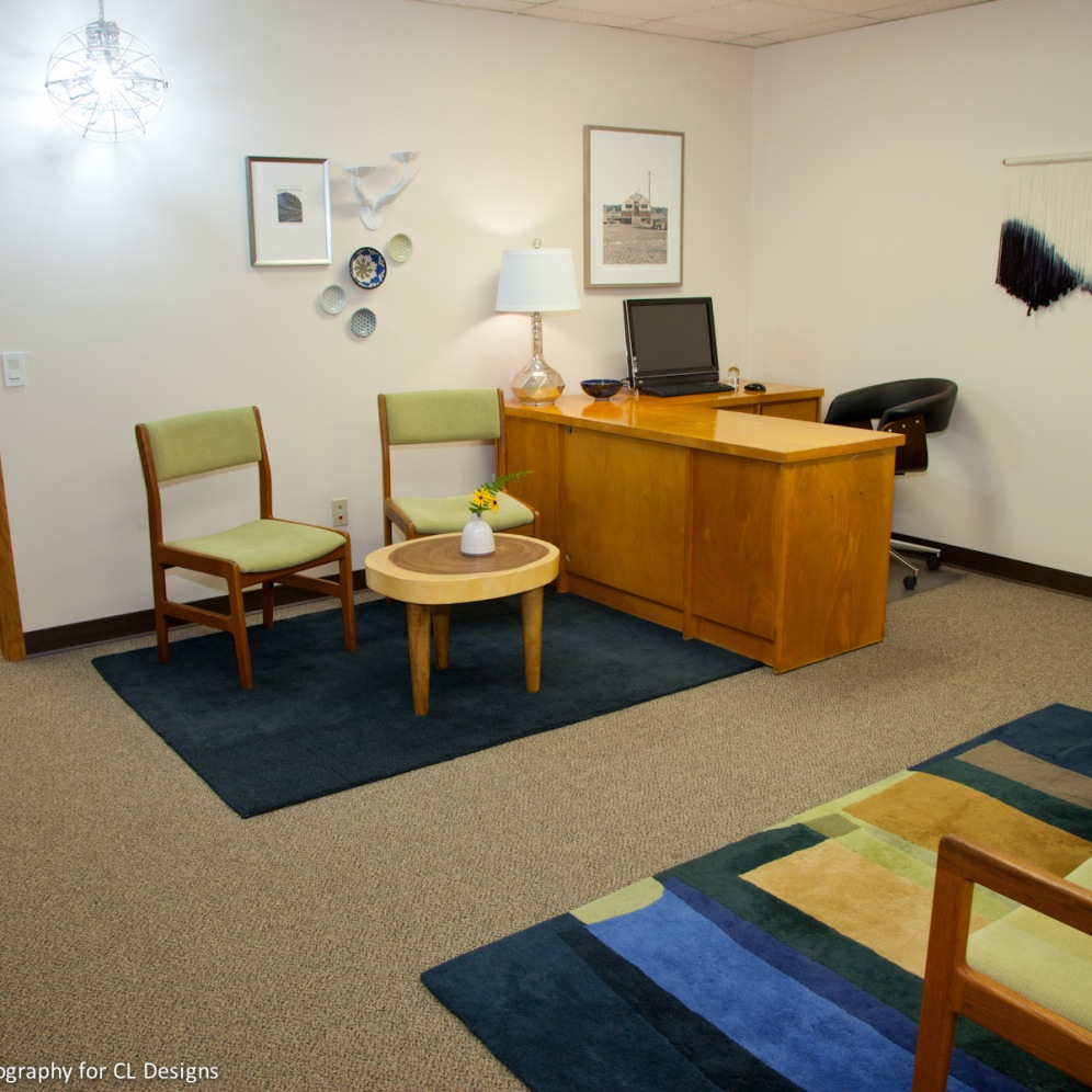 Feng Shui, Office by Gina Jacobson CL Designs Duluth Minnesota with photograph by Julia Graylow Photography